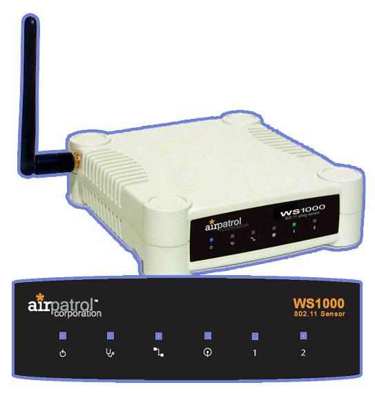 AirPatrol WS1000 Sensor Label